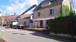 chantier terrasse